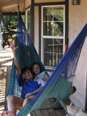 Kids on Hammock
