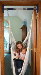 Doorway at home is a swing way